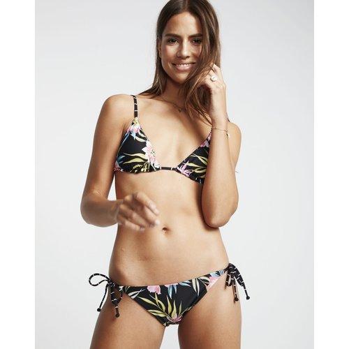 Billabong Billabong Dames Find A Way Rev Tropic Bikini Top Black Pebble