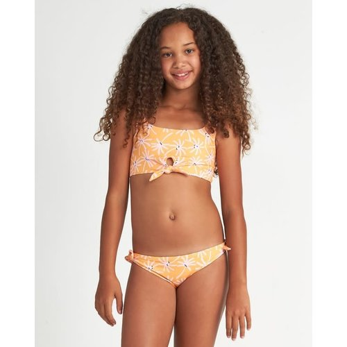 Billabong Billabong Meisjes Letting Go Floral Bikini Set Mango