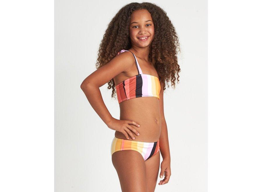 Billabong Meisjes Sunset Glow Striped Bikini Set Multi