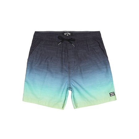 Billabong Billabong Kinder All Day Faded Layback Boardshorts Citrus