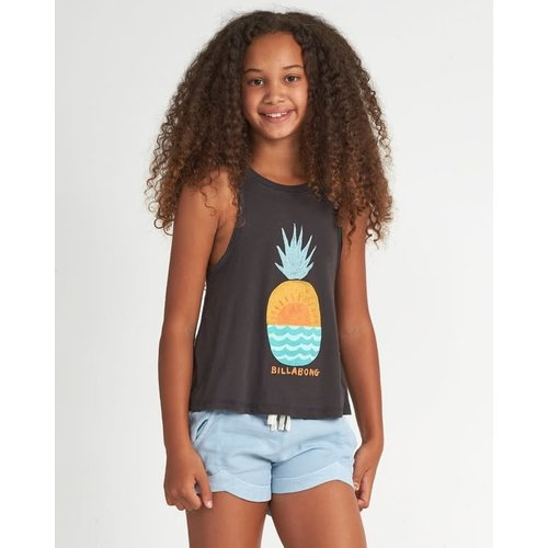 Billabong Billabong Girls Open Sea Tee Off Black