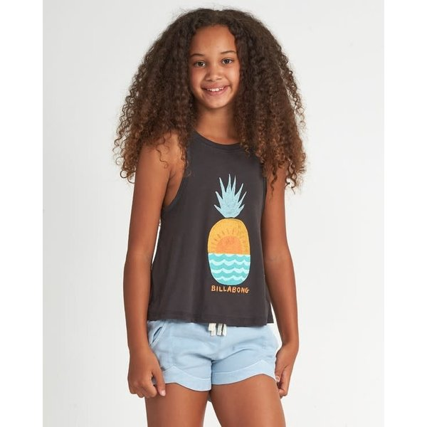 Billabong Kinder Open Sea Tee Off Black