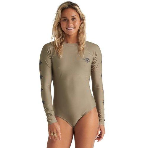 Billabong Billabong Dames Core Mock Neck Bdyst Surf Suit Aloe