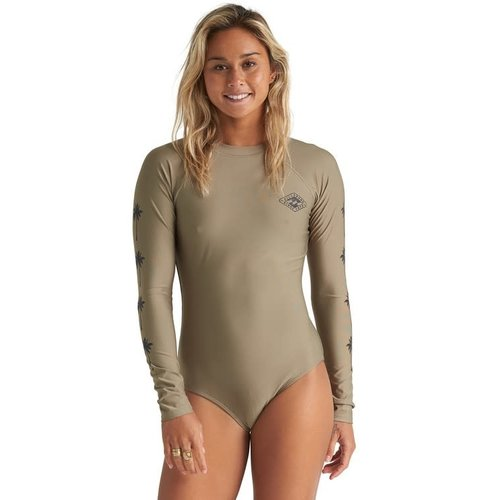 Billabong Billabong Women's Core Mock Neck Bdyst Surf Suit Aloe