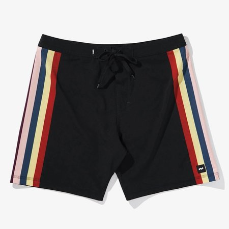 Banks Journal Banks Journal Heren Silence Boardshorts Dirty Black