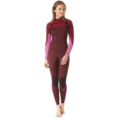 Billabong Billabong Furnace Synergy 4/3 Women's Summer Wetsuit Maroon