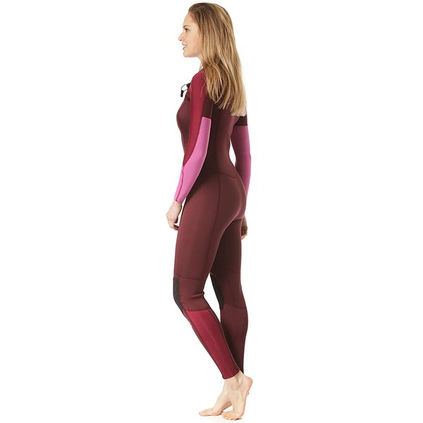 Billabong Furnace Synergy 4/3 Dames Zomer Wetsuit Maroon