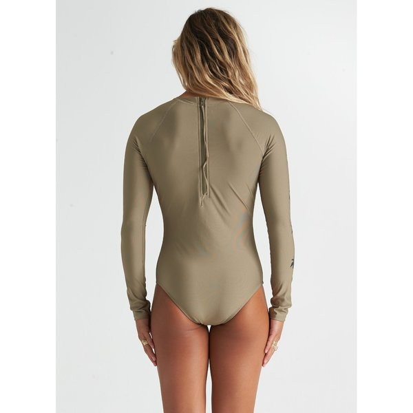 Billabong Dames Core Mock Neck Bdyst Surf Suit Aloe