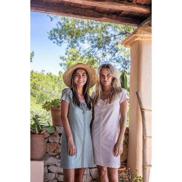 Isla Ibiza Dames Dress Olive