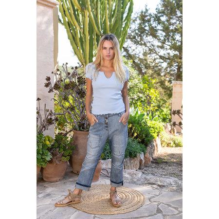 Isla Ibiza Isla Ibiza Dames Shirt Jeans