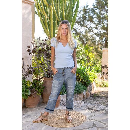 Isla Ibiza Isla Ibiza Women's Shirt Jeans