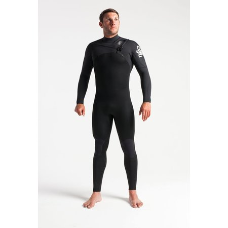 C-Skins C-skins Session 4/3 Heren Wetsuit Carbon/White