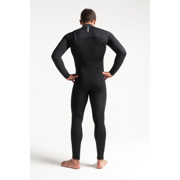 C-skins Session 4/3 Heren Wetsuit Carbon/White