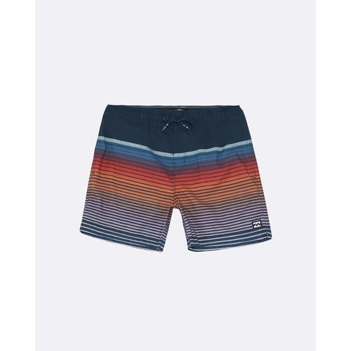 Billabong Billabong Kinder All Day Stripe Boardshorts Dusty Blue