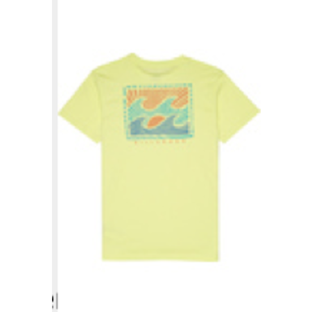 Billabong Billabong Kinder Warchild Tee Neo Lemon