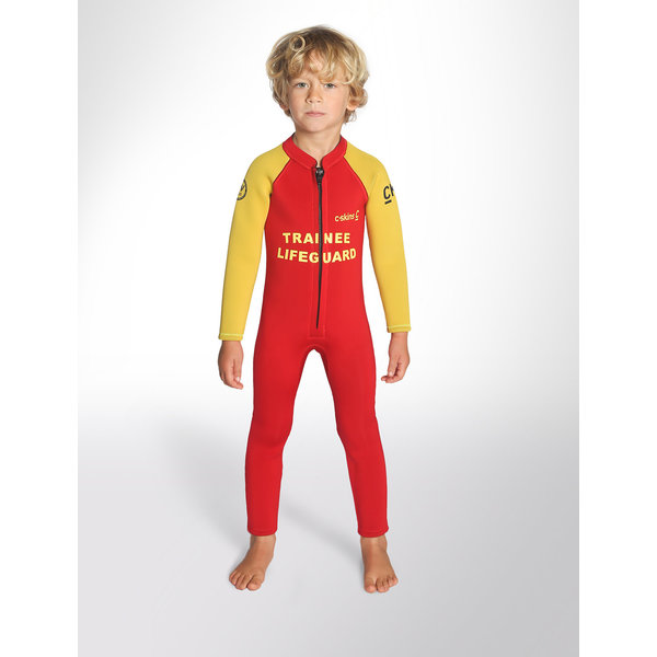 C-Skins 3/2 Baby Wetsuit Red Trainee
