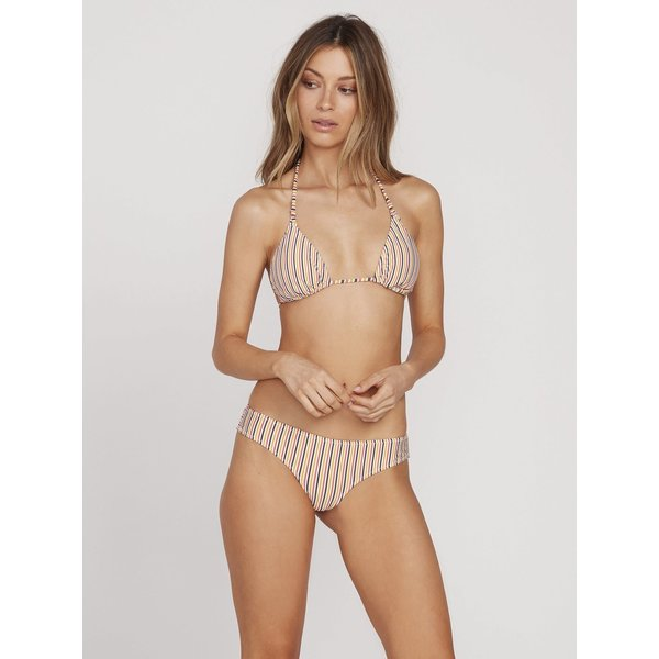 Volcom Dames E'ry Minute Triangle Bikini Top Multi