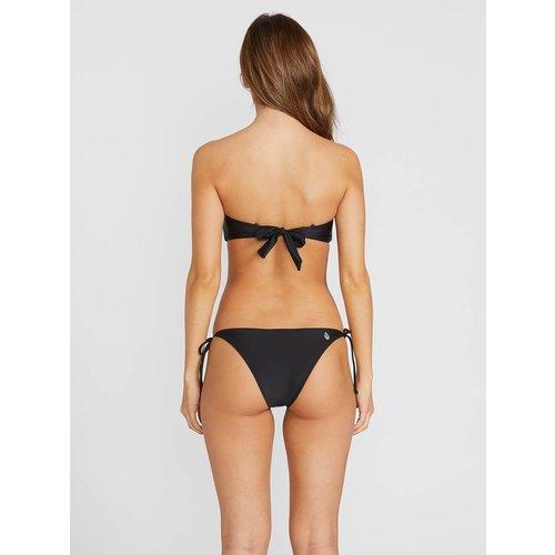 Volcom Volcom Dames Simply Solid Skimpy Bikini Broekje Zwart