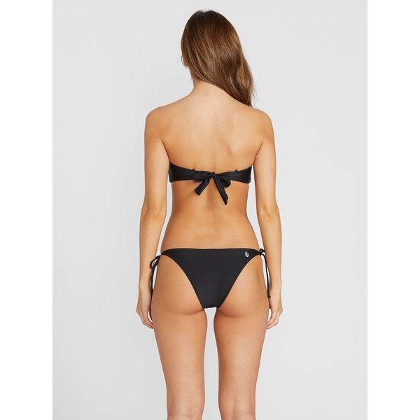 Volcom Dames Simply Solid Skimpy Bikini Broekje Zwart