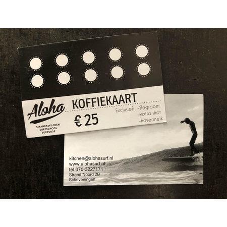 Aloha Surf Huismerk Aloha Koffiekaart