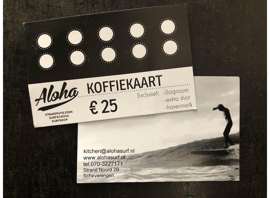 Aloha Koffiekaart