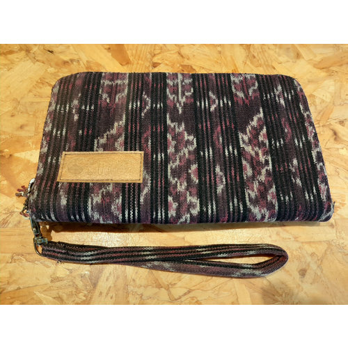 Curms Curms Clutch Travel Pouch Mixed Print