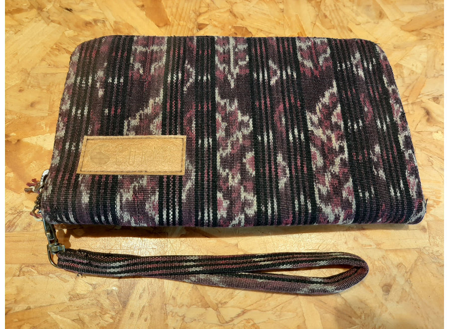 Curms Clutch Travel Pouch Mixed Print
