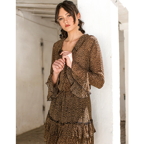 Isla Ibiza Isla Ibiza Women's Dress Leopard Print