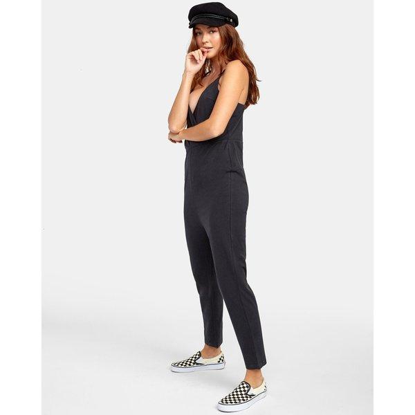 RVCA Dames Citra Jumpsuit Black