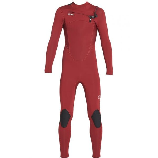 Xcel Comp 4/3 Kinder Zomer Wetsuit Chilli Pepper