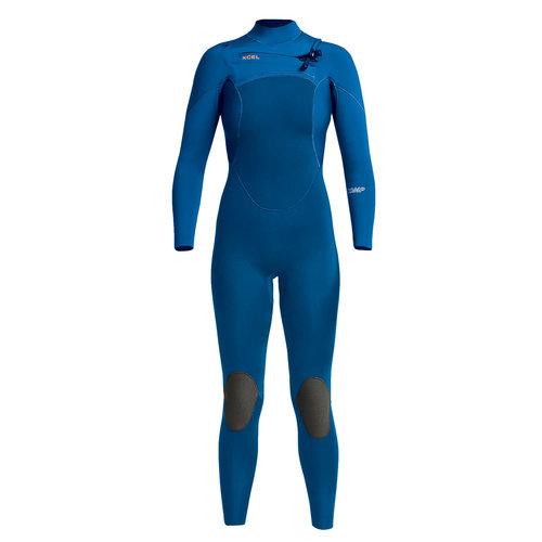 Xcel Xcel Comp 3/2 Dames Zomer Wetsuit Faint Blue