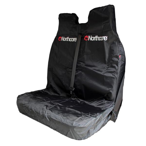 Northcore Waterproof  Dubbele Autostoel Beschermer Zwart
