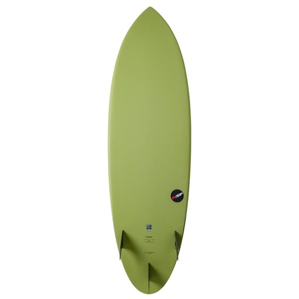 NSP Protech Hybrid Lime 6'2'' Lime