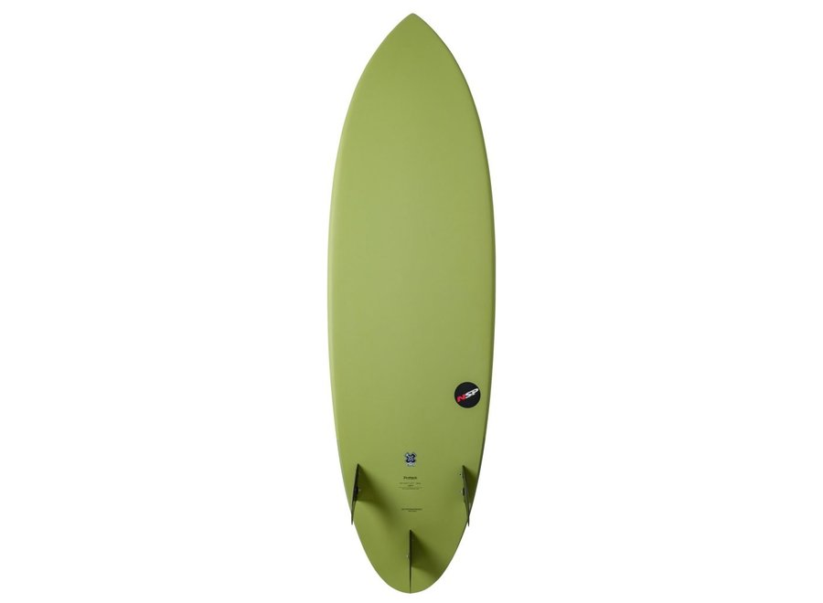 NSP Protech Hybrid Lime 6'0'' Lime