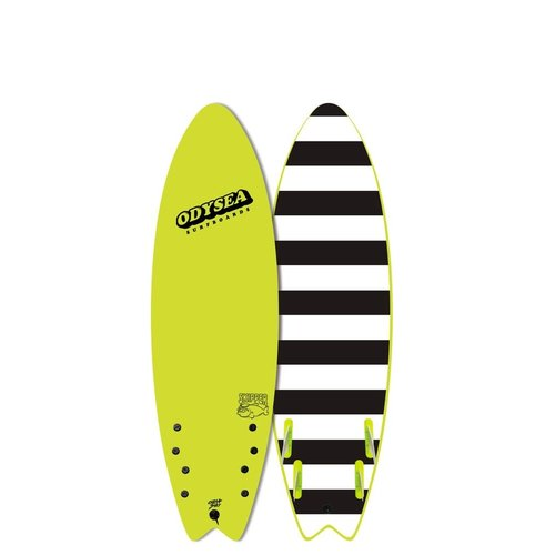 Catch Surfboards Catch Odysea 6'0'' Skipper Quad Electric Lemon 2.0