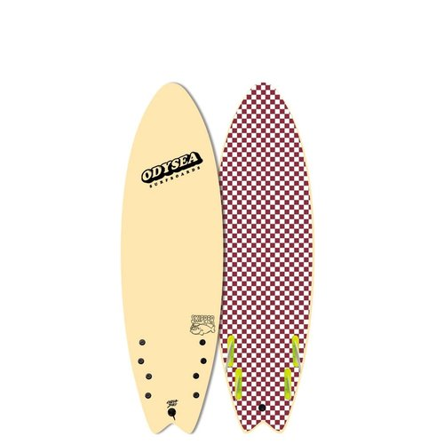 Catch Surfboards Catch Odysea 6'0'' Skipper Quad Vanilla 2.0