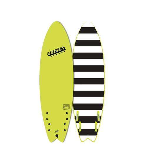 Catch Surfboards Catch Odysea 6'6'' Skipper Quad Electric Lemon 2.0