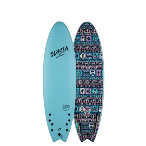 Catch Surfboards Catch Odysea 6'6'' Pro Skipper Quad Jamie O'Brien Sky Blue 2.0