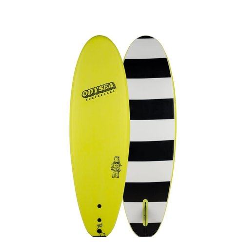 Catch Surfboards Catch Odysea 6'0'' Plank Single Fin Electric Lemon 2.0