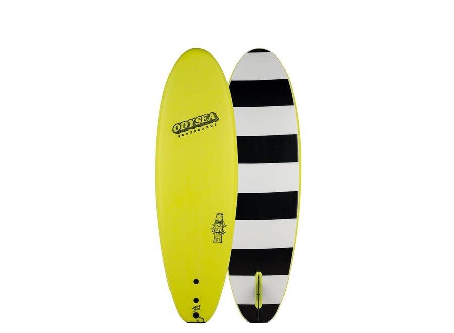 Catch Odysea 6'0'' Plank Single Fin Electric Lemon 2.0