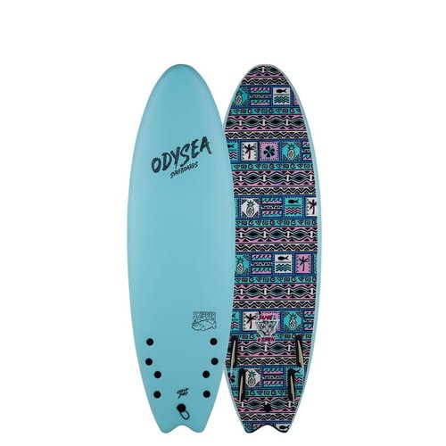 Catch Surfboards Catch Odysea 6'0'' Pro Skipper Quad Jamie O'Brien Sky Blue 2.0