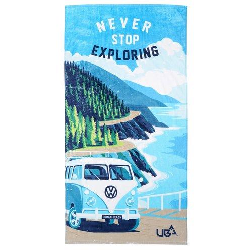 Urban Beach Urban Beach Volkswagen Sage Towel Blue