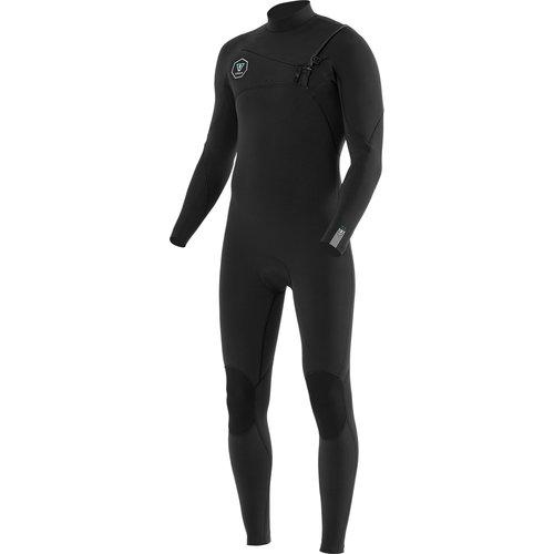 Vissla Vissla 7 Seas 3/2 Heren Zomer Wetsuit Black With Jade