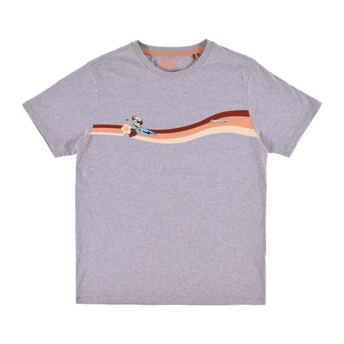 Lightning Bolt Lightning Bolt Heren Rider Tee Heather Grey