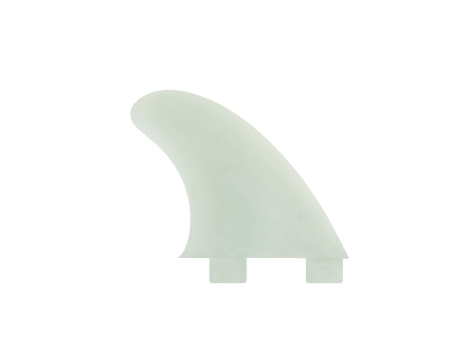 FCS GX Natural Glass Flex Side Fin Set