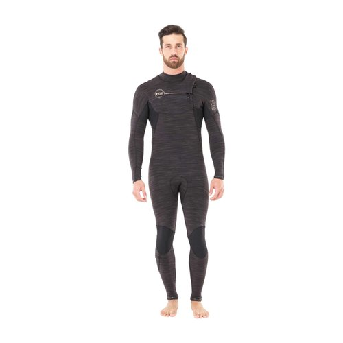 Picture Organic Clothing Picture Dome 4/3 Heren Zomer Wetsuit Black Melange