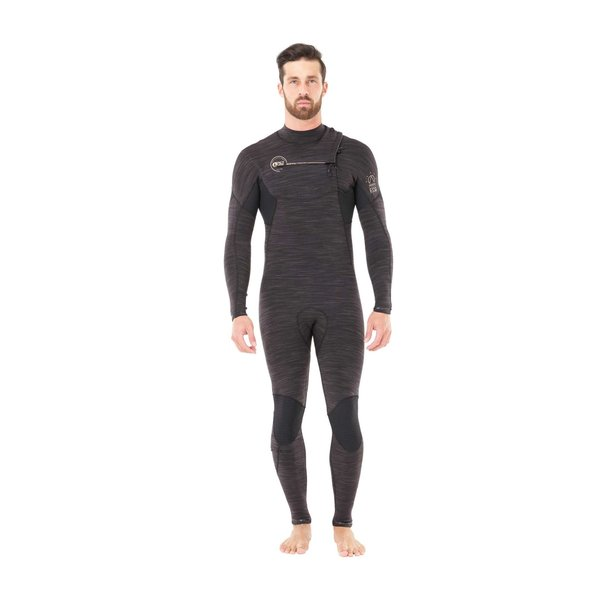 Picture Dome 4/3 Heren Zomer Wetsuit Black Melange