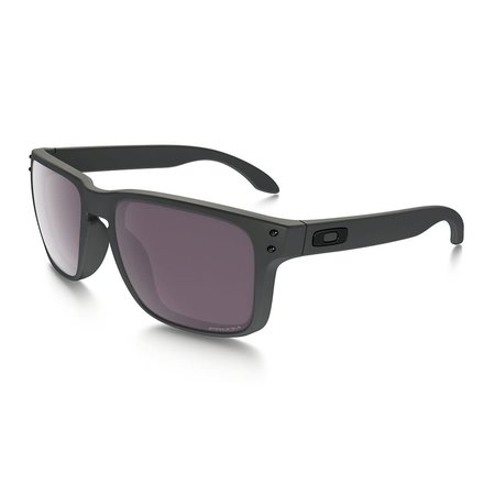Oakley Oakley Holbrook Steel Prizm Daily Polarized Sunglasses