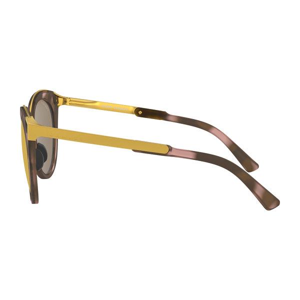 Oakley Top Knot Matte Rose Tortoise Prizm Rose Gold Zonnebril