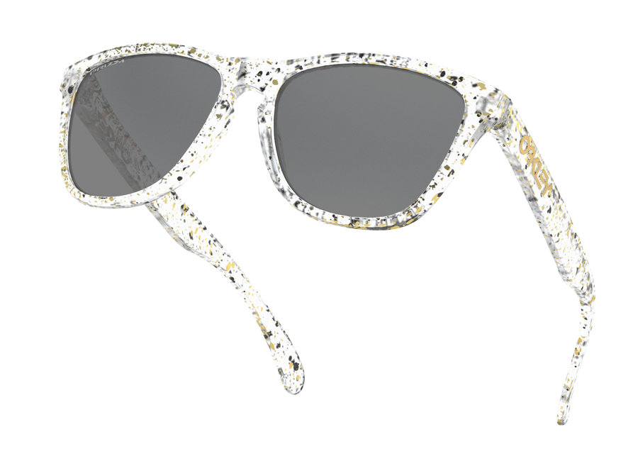 Oakley Frogskins Splatter Clear Prizm Black Zonnebril